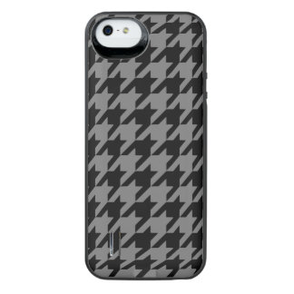 Smoke Houndstooth 2 iPhone SE/5/5s Battery Case