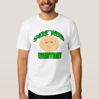 Smoke weed everyday funny t-shirt