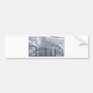 smokestacks bumper sticker