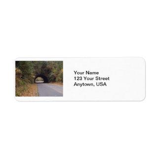Smokey Mountain address labels
