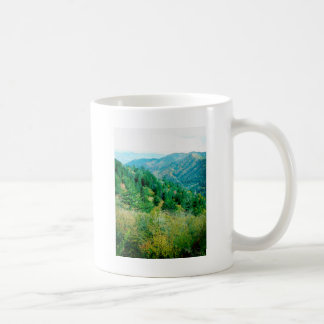 Smokey Mountains Basic White Mug