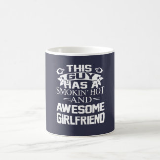 Smokin Hot & Awesome Girlfriend Coffee Mug