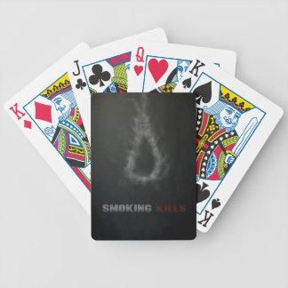 Smoking Kills Hanging Rope Poker Deck