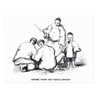Smoking Opium Postcard