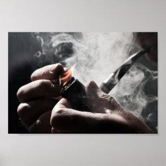 Smoking pipe poster