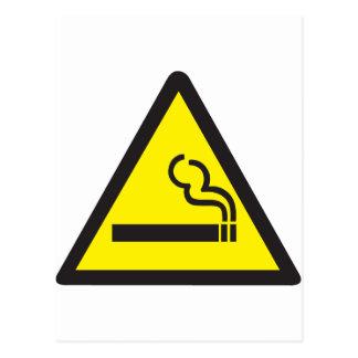 Smoking Smoker Sign Postcard