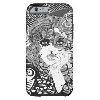 Smoking Woman iPhone 6, Tough Tough iPhone 6 Case