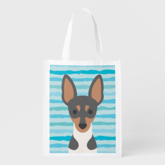 Smooth Fox Terrier Resusable Tote Bag