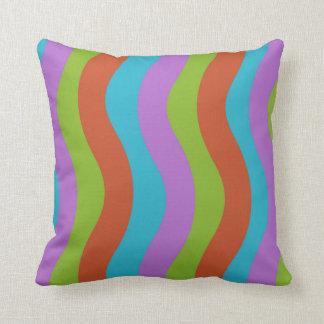 Smooth Wave Stripes Cushion