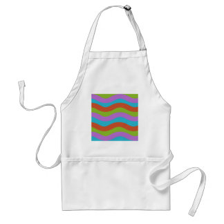 Smooth Waves Stripes Aprons
