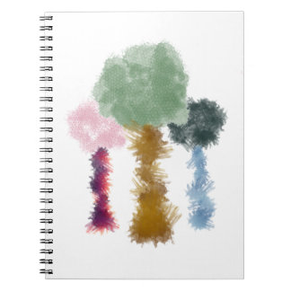 Smudge Trees Notebook Office/University Supplies