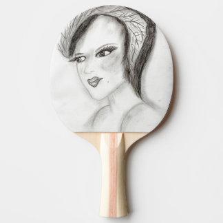 SMUG 30s Girl Ping Pong Paddle