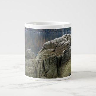 Smuggler's Cove Shoreline Large Coffee Mug