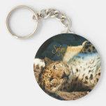 SN keychain - leopard