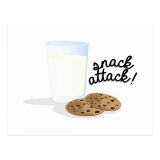 Snack Attack Postcard