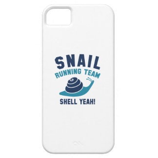 Snail Running Team Barely There iPhone 5 Case