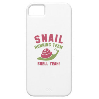 Snail Running Team iPhone 5 Covers