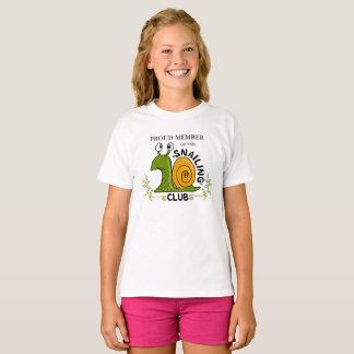 Snailing Club Proud Member T-Shirt