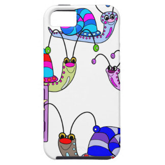 Snails in the garden iPhone 5 cover