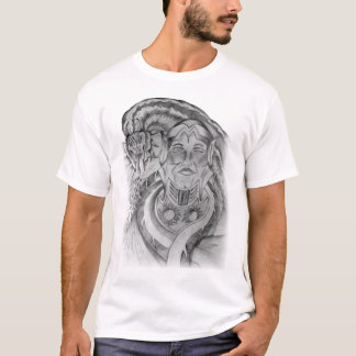 snake and medieval knight T-Shirt
