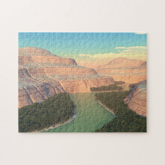 Snake River Canyon Puzzle