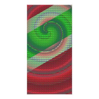 Snake Skin Custom Photo Card