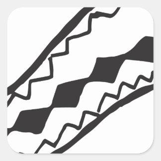 Snake Square Sticker
