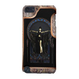 Snakeskin Art deco iPod Touch 5G Cases