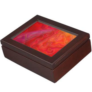 Snapdragon Caverns Abstract Keepsake Boxes