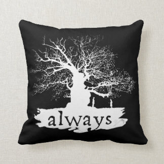 Snape And Lily - Always Throw Pillow