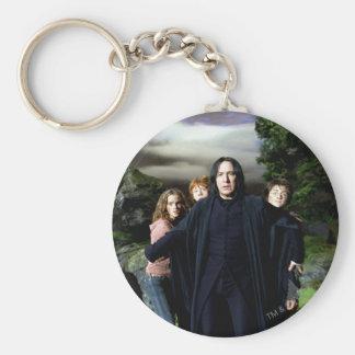 Snape Hermoine Ron Harry Key Ring
