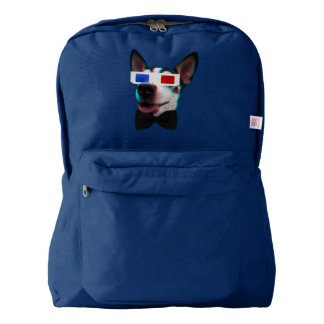 Snazzy 3D Dog Backpack