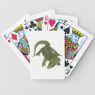 Sneaky Galapagos Iguana Poker Deck