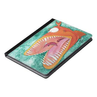 """Sneezer"" Fish With Attitude iPad Case"