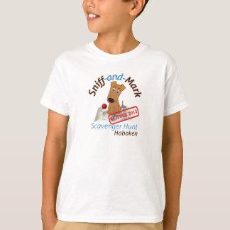 Sniff and Mark Hoboken Scavenger Hunt t-shirt