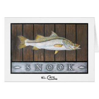 Snook Greeting & Note Cards