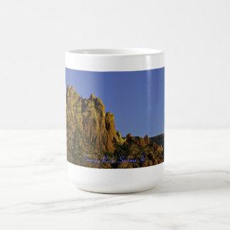 Snoopy Rock Sedona Arizona Basic White Mug