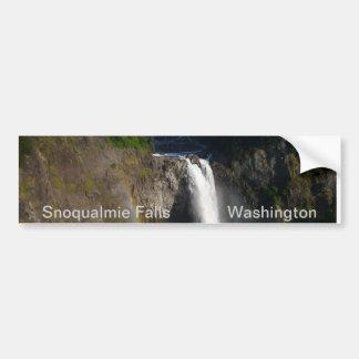 Snoqualmie Falls Car Bumper Sticker