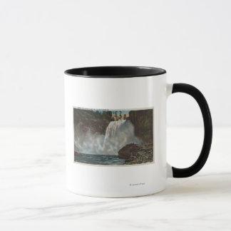 Snoqualmie Falls, WA - View of Falls at Bottom Mug