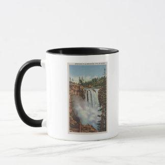 Snoqualmie Falls, WA - View of Falls at Top Mug
