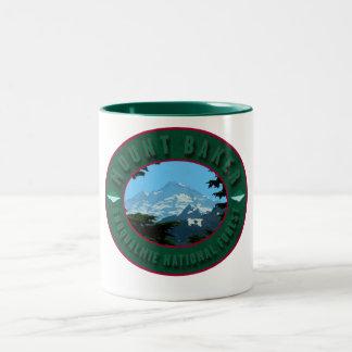 Snoqualmie National Forest-Mug Two-Tone Coffee Mug