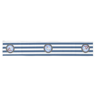 Snorkel Westie Portholes Table Runner
