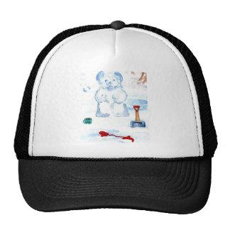 """Snow Bear""  CricketDiane Coffee Art Cap"