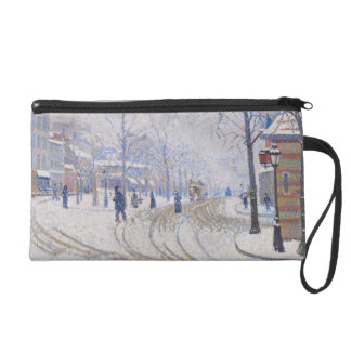 Snow, Boulevard de Clichy, Paris, 1886 Wristlet