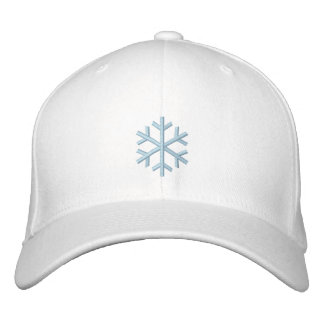 Snow Bunny Embroidered Hat