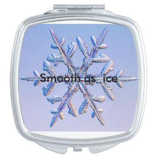 Snow compact travel mirrors