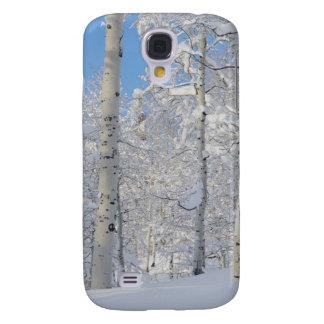 Snow-Covered Aspens, Beartrap-Desolation Ridge Galaxy S4 Case