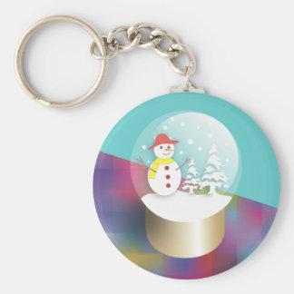 Snow Globe Keychains