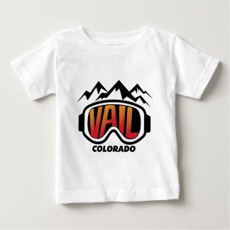 snow-goggles-vail baby T-Shirt