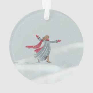 Snow Joy Ornament